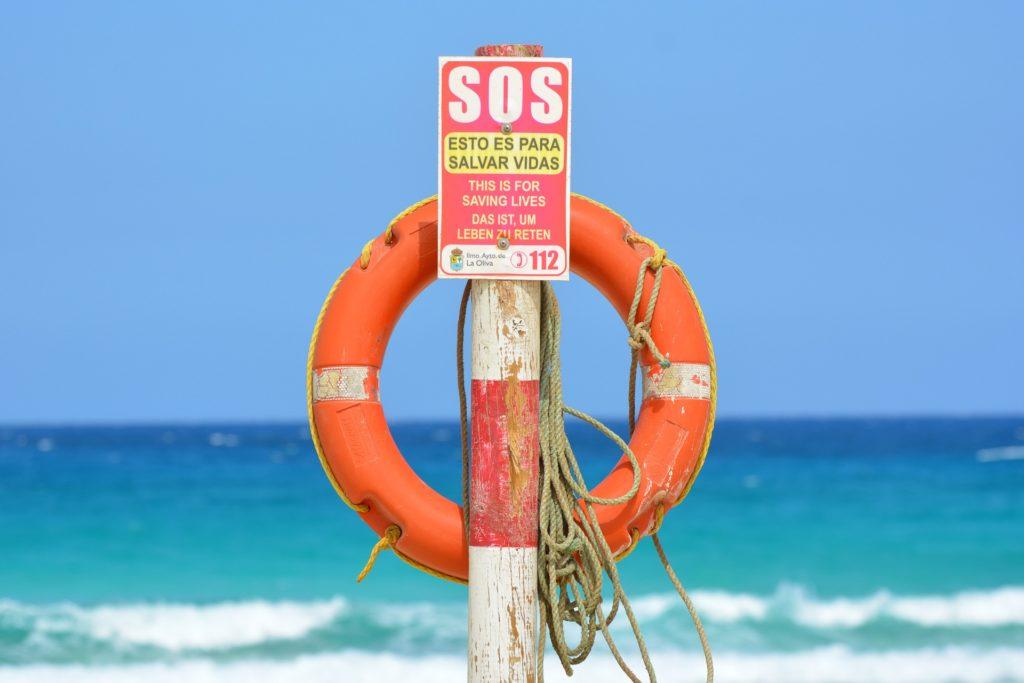 Hulp kan een reddingsboei zijn waardoor je blijft zwemmen